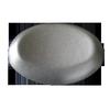 Подголовник серебристый круглый (овальный)
