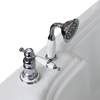 """Смеситель для ванны из пяти элементов """"Маджоре"""" Chrome"""