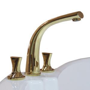 """Смеситель для ванны из пяти элементов """"Фламинго"""" Gold"""