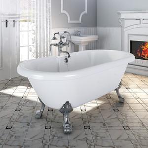"""Акриловая ванна """"Леонесса"""" Chrome"""