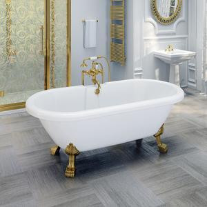 """Акриловая ванна """"Леонесса 175х80"""" Gold"""