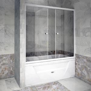 "Шторка на ванну ""Хельга 185х100"""
