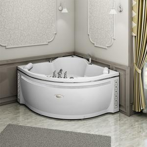 """Акриловая ванна с гидромассажем """"Сорренто 140х140"""""""